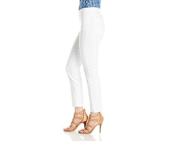 NYDJ Women's Millie Pull On Ankle Jeans In Endless White Denim