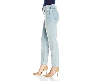 NYDJ Women's Petite Alina Convertible Ankle Jeans in Cool Embrace Denim