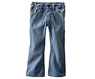 Oshkosh Girls Bootcut Jeans-light Blue Wash; 12 Slim Youth