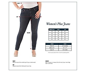 Signature by Levi Strauss & Co Women's Plus Size Skinny Jeans