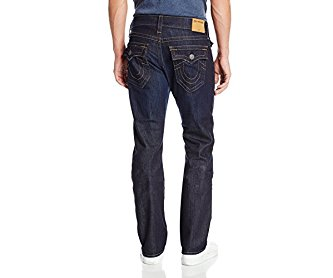 True Religion Men's Ricky Relaxed Straight Fit Jean in Wanted Man