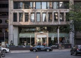 Le Germain Hotel outside