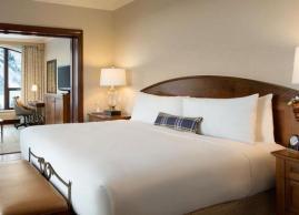 Mount temple one bedroom suite, Fairmont Chateau Lake Louise
