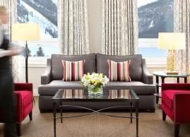 One bedroom suite, Fairmont Chateau Lake Louise