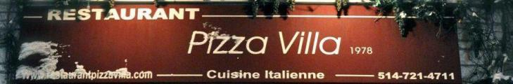 Restaurant Pizza Villa