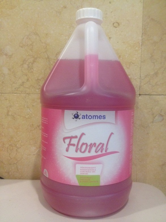 Floral - SANITIZER AND DEODORANT (4X4L)