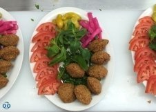 Falafel plat chez Abou Hanna Montréal