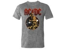 Licensed Tees Men's Short Sleeve AC/DC Crew Neck T-Shirt