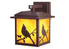 Home Collections Outdoor Canadiana Lantern, Rust-Bronze