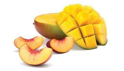 The art of peach mango tart