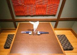Mikasa sushi dining table