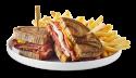 Sandwich smoked meat de montréal