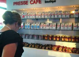 Presse café boutique