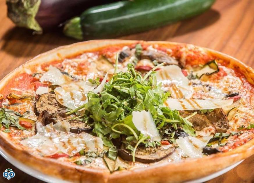 Pizza végétale