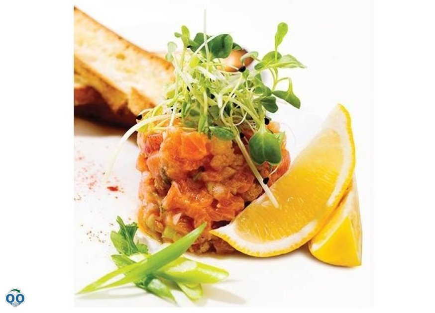 Tartare de saumon zibo