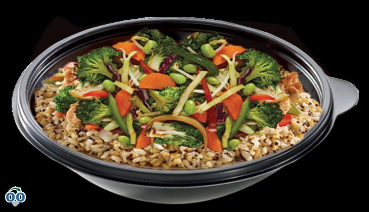 Supergrains vedge bowl
