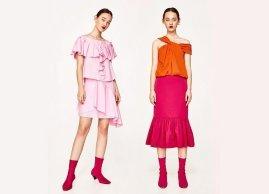 New this week | orange + pink.