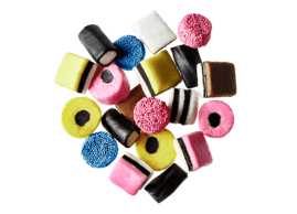 Bonbons Allsorts à la réglisse