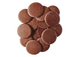 Pastilles de chocolat au lait belge