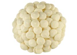 Pastilles de moulage à saveur de chocolat blanc Merkens