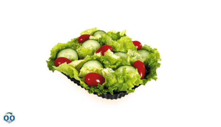 Garden salad platter