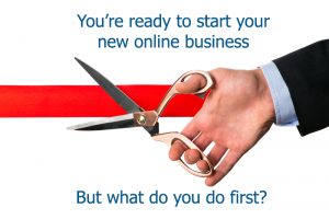Guide to starting a new online business infographic