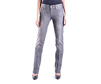 7 FOR ALL MANKIND WOMEN'S MCBI004003O GREY COTTON JEANS