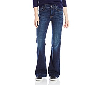 7 For All Mankind Women's Petite Tailorless Ginger Flare Jean