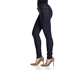7 For All Mankind Women's Skinny Jean in Rinsed Indigo