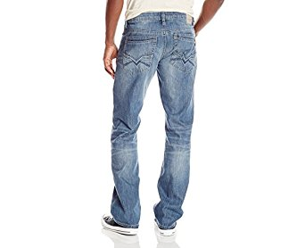 Buffalo David Bitton Men's Driven Straight-Leg Jean In Lucas Blue