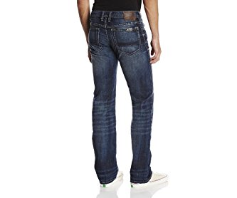 Buffalo David Bitton Men's Driven Straight-Leg Jean In Slightly Sandblasted