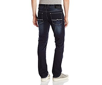 Buffalo David Bitton Men's Evan Slim-Fit Jean in Used Wash Stretch Denim