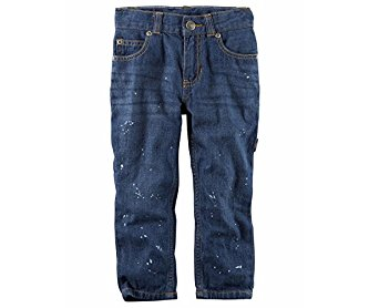 Carter's Toddler Boys' 5-Pocket Straight-Fit Jeans 3T
