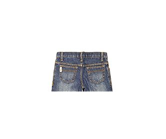 Cinch Western Denim Jeans Boys White Label Dark Indigo MB12882002