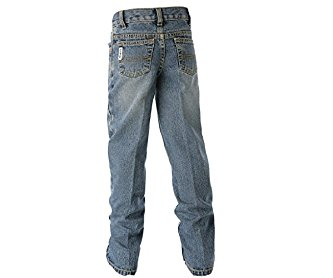 Cinch Western Denim Jeans Boys White Label Indigo MB12882001
