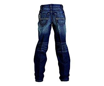 Cinch Western Jeans Boys Kid Sawyer Loose 7 Reg Medium Wash MB16442001
