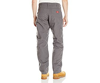 Dickies Men's Relaxed Fit Straight leg Duck Carpenter Jean