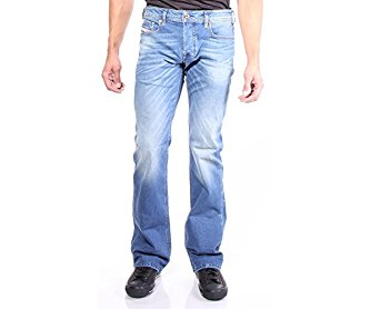 Diesel Men's Zatiny 850W Boot Cut Jeans