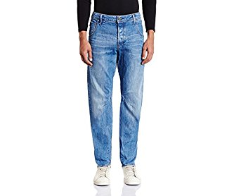 G-Star Raw Men's Arc 3D Tapered-Fit Jean in Hadron Stretch Denim
