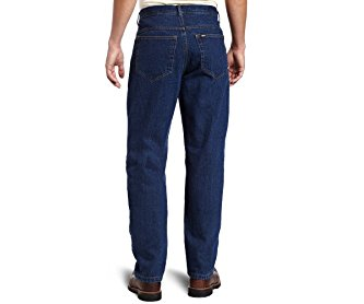 Key Apparel Men's Big-Tall Heavyweight Indigo Denim 5-Pocket Jean