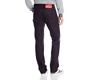 Naked & Famous Denim Men's Weird Guy In Red Weft Stretch Selvedge JeanRed36