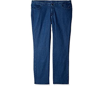 Riders by Lee Indigo Women's Tall Plus Size Comfort Collection Straight Leg Jean