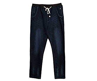 SK Studio Men's Oversized Skinny Loose Fit Straight Stretch Jeans