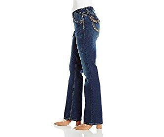 Unionbay Women's Amy 5pkt True Bootcut Jean with Flap Back Pockets