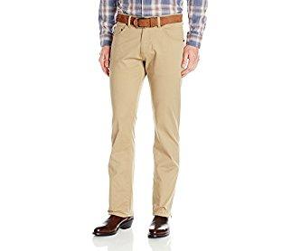 Wrangler Men's Retro Slim-Fit Straight-Leg Fawn Jean