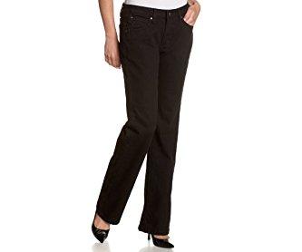 Wrangler Women's Aura Average-Rise Stretch-Denim Jean with Embroidered Pocket