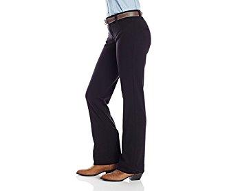 Wrangler Womens Rock 47 Black Knit Wide Leg Jean 32x32