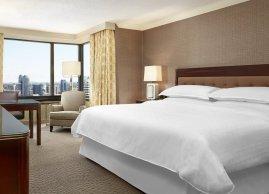 Sheraton Centre Toronto Hotel Club Level King Guest Room