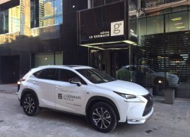 Complimentary car service, Le Germain Hotel