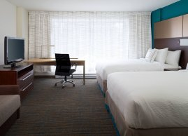 Studio double/double suite, Residence Inn Montreal Downtown